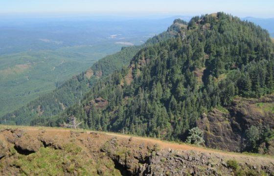 Oregon Coast camping Saddle Mountain