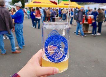 Beer cup over Astoria